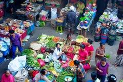 Marché de nourriture de Balinese Photo libre de droits