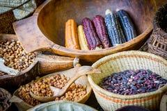 Marché de nourriture de natif américain Images stock