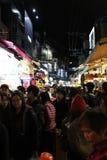 Marché de nuit de Taïpeh photographie stock