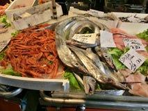 Marché de poissons à Venise Photos stock
