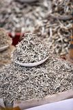 Marché de poissons sec en Corée du Sud Image stock
