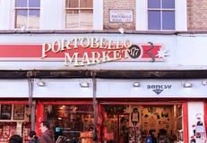 Marché de Portobello Photographie stock