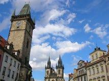 Marché de Prague Photos libres de droits