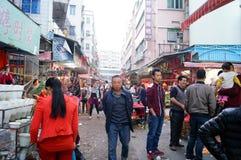 Marché de Shenzhen Xixiang Photographie stock
