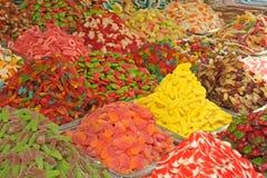 Marché de sucreries Photo libre de droits