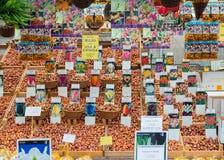 Marché de tulipe Images libres de droits