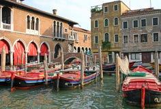 Marché de Venise image libre de droits