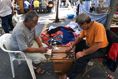 Marché de ville de Jaffa image libre de droits