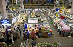 Marché de Warorot images stock