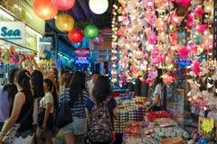 Marché de week-end de Jatujak à Bangkok Image libre de droits