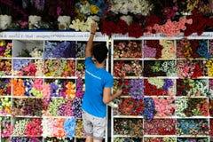 Marché de week-end de Jatujak à Bangkok Photos libres de droits