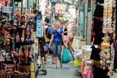 Marché de week-end de Jatujak à Bangkok Image stock