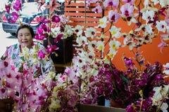 Marché de week-end de Jatujak à Bangkok Images libres de droits