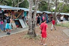 Marché des Îles Maurice Image libre de droits