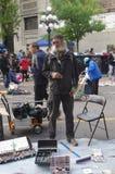 Marché du côté est de Vancouver Images libres de droits