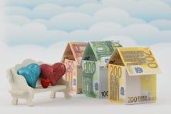 Marché du logement, un avenir prospère Photo libre de droits