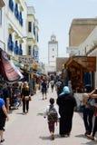 Marché du Maroc Image libre de droits