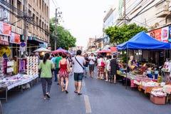 Marché en plein air de marche Photographie stock