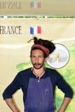 Marché en plein air international 2014 Images stock