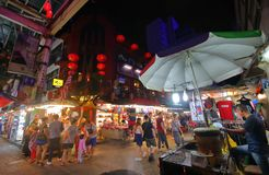 Marché en plein air Kuala Lumpur Malaysia photographie stock libre de droits