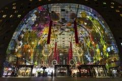 Marché Hall de Rotterdam Images libres de droits