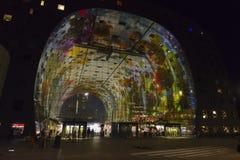 Marché Hall Rotterdam de nourriture Photos libres de droits
