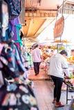 Marché Hat Yai de Kim Yong Images libres de droits