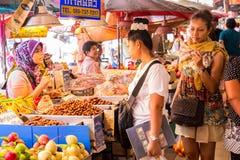 Marché Hat Yai de Kim Yong Image stock