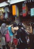 Marché indonésien Photo libre de droits