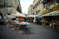 Marché italien Images stock