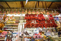 Marché italien Arthur Ave Bronx NYC images stock