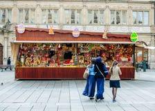 Marché l'Europe de Pâques Photographie stock libre de droits