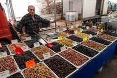 Marché libre en Turquie Image stock