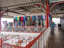 Marché municipal de Papeete, Tahiti, Polynésie française photos stock