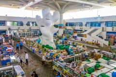Marché russe de bazar d'Achgabat photo libre de droits