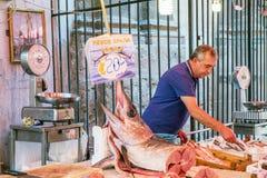 Marché sicilien à Palerme Images libres de droits