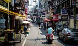 Marché sud-coréen photographie stock libre de droits