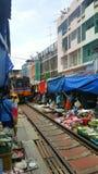 Marché thaï Images stock