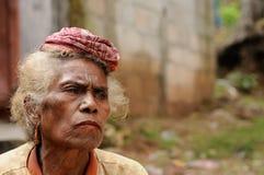 Marché tribal traditionnel sur une île Timor, Indonésie Photo libre de droits
