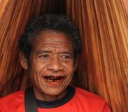 Marché tribal traditionnel sur une île Timor, Indonésie Images libres de droits