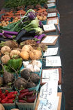 Marché végétal Photo stock