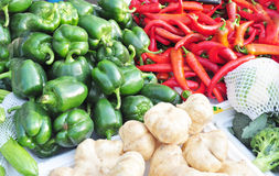 Marché végétal Photographie stock libre de droits