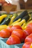 Marché végétal Image stock