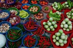 Marché végétal Photos libres de droits