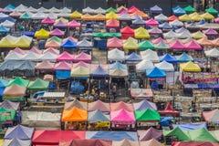 Marchés à Bangkok Image libre de droits