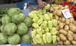 Marchés de légumes photographie stock
