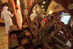 Marchés de Souq dans Doha Photos stock