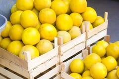 Marchés des produits agricoles images libres de droits