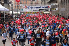 March 27, 2011 - 40 ° edition of the Stramilano Stock Image