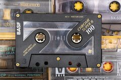 Free March 28,2021, Minsk, Belarus.A Huge Collection Of Audio Cassettes. Retro Music Background Royalty Free Stock Photo - 214729375